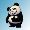 Забавная панда / Funny panda
