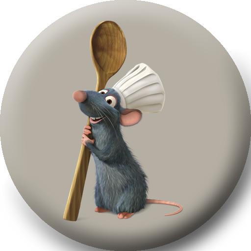 Картинки новогодней крысы рататуй